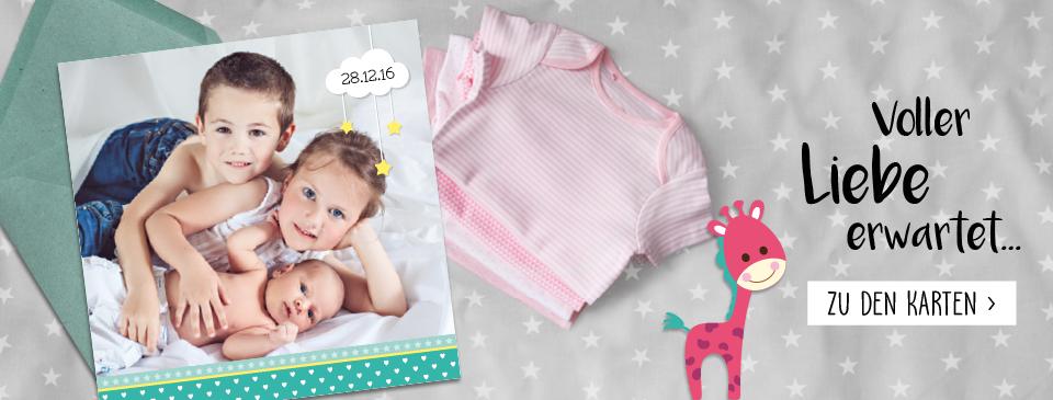 Geburtskarten aus der schweiz einfach online gestalten und - Geburtskarten online gestalten ...