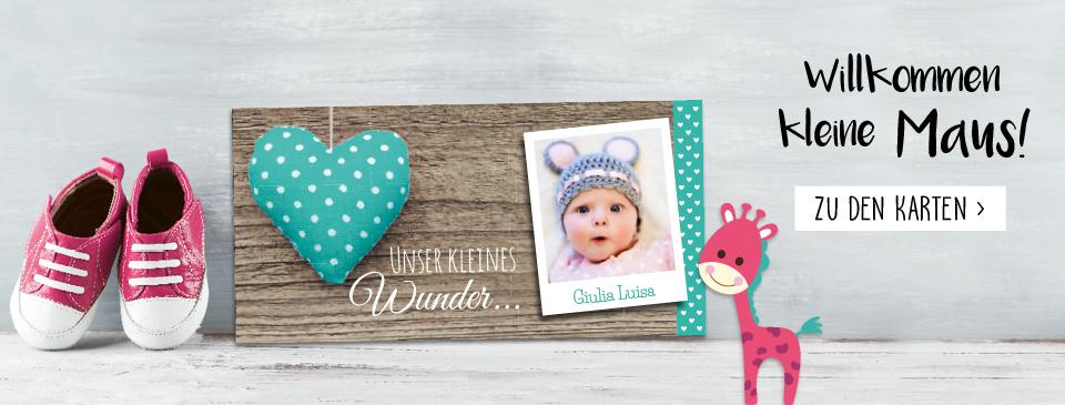 Geburtskarten aus der schweiz einfach online gestalten und for Geburtskarten online gestalten